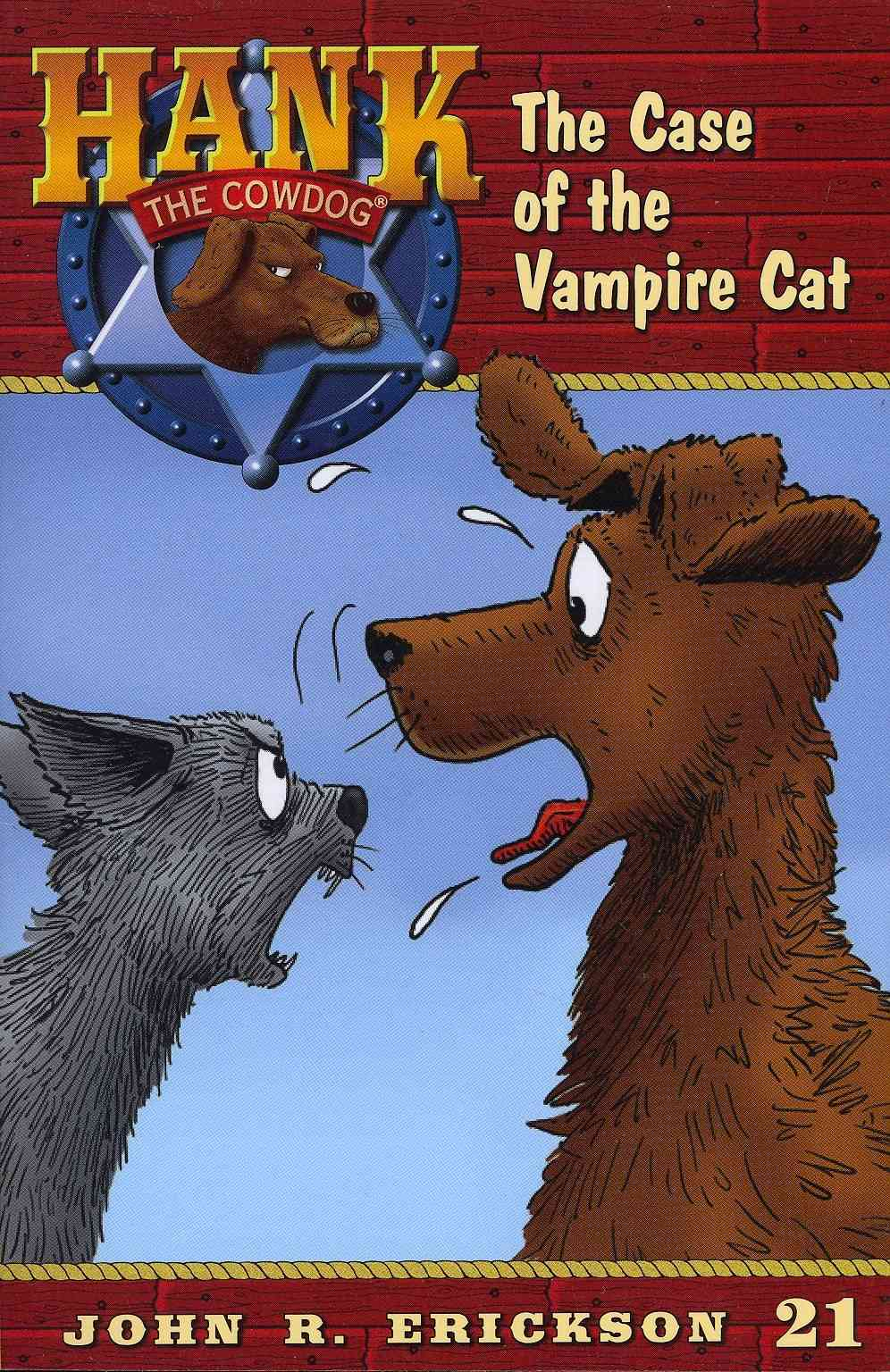 The Case of the Vampire Cat By Erickson, John R./ Holmes, Gerald L (ILT)
